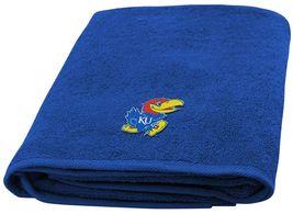 University Of Kansas Jayhawks Bath Towel dimensions are 25 x 50 inches - $17.95