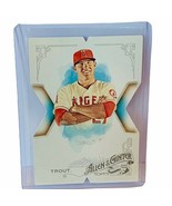 Mike Trout Angels 2015 Topps Allen Ginter Die Cut 10th anniversary insert sp 19 - $94.05