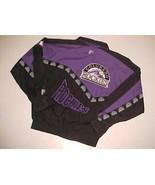 Colorado Rockies MLB NL Vintage Pro Player Purple Black Full Zipper Jack... - $44.50