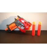 Nerf N-Strike Mega BigShock Blaster Big Shock Pistol Pocket Jolt Red Dar... - $4.94