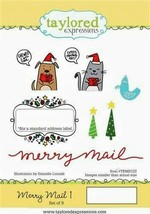 Taylored Expressions Merry Mail 1 Stamp Set, CHRISTMAS! - $15.25