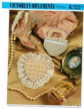 Plastic Canvas Pattern - Victorian Ornaments - Quick & Easy - $1.97
