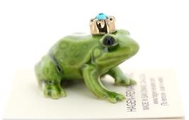 Hagen-Renaker Miniature Ceramic Frog Figurine Birthstone Prince 12 December