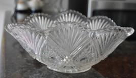 VINTAGE Clear DEPRESSION Glass DISH  Serving Bowl Oval - $11.87