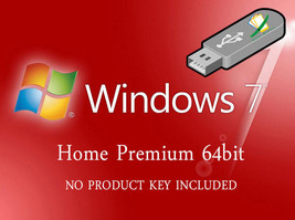 Microsoft Windows 7 Home Premium 64bit Re-Install Recovery Repair Fix Bo... - $16.48