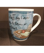 History and Heraldry Porcelain MARVELOUS MANAGER Coffee Mug  - $7.49