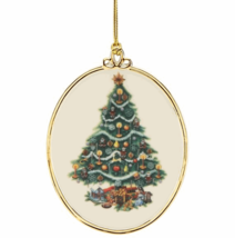 Lenox 2018 USA Trees Around The World Ornament Annual America Christmas ... - $40.00