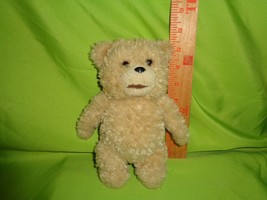 "Seth Mcfarlane TED Movie 8"" Talking Plush Teddy Bear Soft Stuffed Animal... - $9.89"