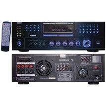 Pyle Home PD1000A 1,000-Watt AM/FM Receiver with Built-in DVD Player - $255.55