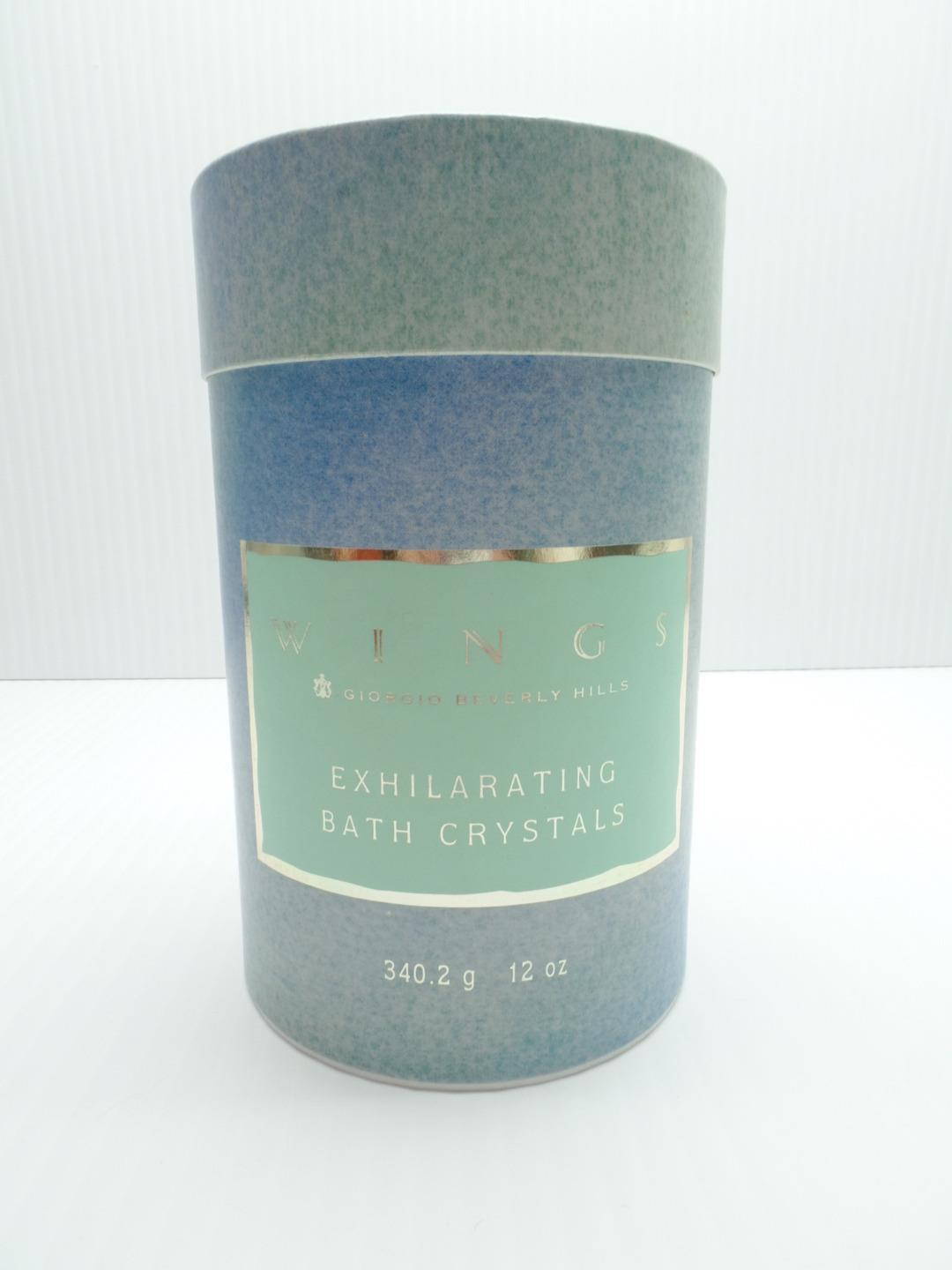 Giorgio Bath Crystals 12 oz Beverly Hills Wings Exhilarating 340.2g 19-2147 1992