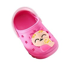 SITAILE Girls Boys Garden Clogs with Backstrap Rosered - $16.93