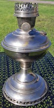 Antique Aladdin Model 6 Nickel Plated Oil Lamp-Made in USA-1915 - $75.00