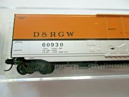 Micro-Trains # 03800562 Denver & Rio Grande Western 50' Standard Boxcar N-Scale image 2