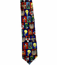 Looney Tunes, Mens Neck Tie,  Theme  (Stamp Collection) Novelty Tie - $10.35