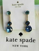 KATE SPADE NEW YORK LINEAR DROP EARRINGS BLUE MULTI NWT - $43.54