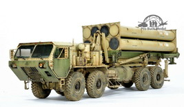 (Pre-Order) Terminal High Altitude Area Defence THAAD 1:35 Pro Built Model - $445.50