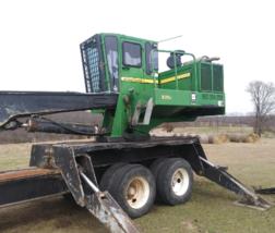 2007 DEERE 335C For Sale in Lane, Oklahoma 74555  image 1