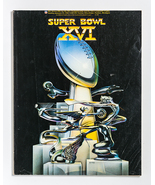 Super Bowl XVI Program, Cincinnati Bengals vs. San Francisco 49ers, Pont... - $20.00