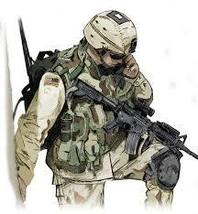 SOLDIER   COLOURED CROSS STITCH KIT - $34.72