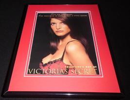 1996 Victoria's Secret Valentine's Day 11x14 Framed ORIGINAL Advertisement - $32.36