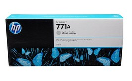 HP 771A (B6Y22A) Light Gray Ink Cartridge For HP DesignJet Z6200 Z6600 Z6610 - $346.49