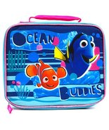 Finding Dory Ocean Buddies Dory and Nemo Soft, Glittery Lunch Bag by Disney - $25.75