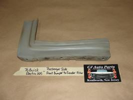 Oem 76 Buick Electra 225 Right Pass Side Front Bumper Fender Corner Filler Panel - $64.99