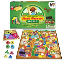 NEW Uncle Miltons ANT FARM Board Game habitat eduational Winning Moves S... - $16.82