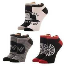 Westworld Women's Ankle Socks Set Black - $12.98