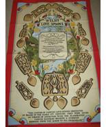 Welsh Love Spoons Tea Towel Clive Mayor - $11.70