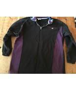 Champion sweatshirt Purple Black Cotton Thick pullover - $23.74
