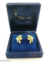 Vintage 1960s Goldtone ROMAN HELMET Talismans Zallo Losten CUFFLINKS in ... - $45.58