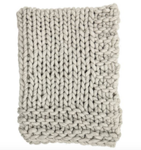 Chunky Cable Knit Throw - ₹12,883.82 INR
