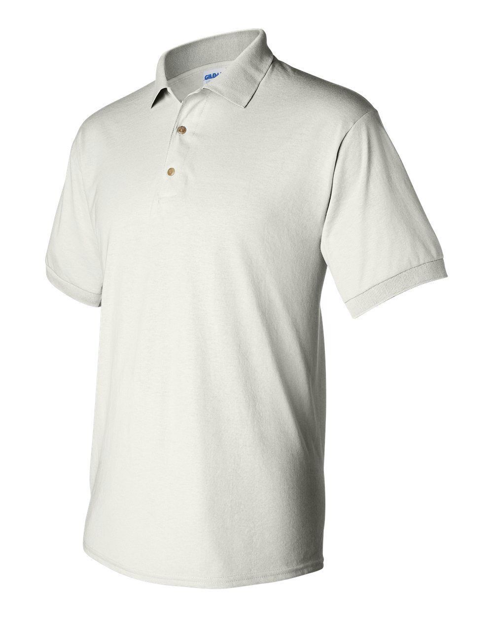 12 Blank Gildan DryBlend White Jersey Polo 8800 Bulk Lot Wholesale XXL-5XL G880