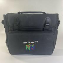Vintage Genuine Nintendo 64 Padded System Soft Carrying Case Travel Bag N64 - $32.71