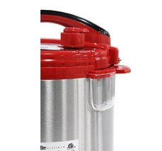 4 qt electric pressure cooker red condensation thumb200