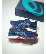 Asics Men's Gel-Kayano 25 Ruby Blue/White/Red Running Shoe - $270.00