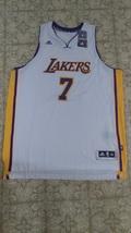 New Adidas Ramon Sessions Swingman #7 Los Angeles Lakers White Jersey Sz XXL - $100.00