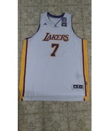 New Adidas Ramon Sessions Swingman #7 Los Angeles Lakers White Jersey Sz... - $100.00