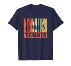 Sport Shirts - Vintage Evolution Of Tennis Funny Shirt Men - $19.95+