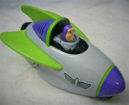 Fisher Price Toy Story 3 BUZZ LIGHTYEAR Shake n Go Talking Spaceship - $8.23