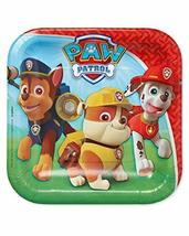 American Greetings Paw Patrol Paper Dessert Plates for Kids (8-Count) - $3.91