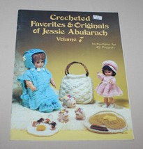Crocheted Favorites & Originals Jessie Abularach Volume 7 1983 - $8.42