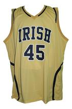 Jack Cooley #45 College Basketball Jersey Sewn Gold Any Size image 1