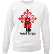 KNIGHT TEMPLAR 6 - NEW WHITE COTTON SWEATSHIRT - $30.65