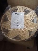 "Ikea STRALA Pendant lamp shade, bamboo 16"" Diameter NEW - $36.95"