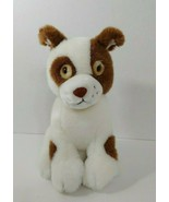Russ Berrie Plush Patches cream brown puppy dog patch spot eye vintage K... - $4.94