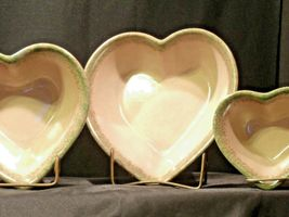 Stoneware Heart Shaped Serving Bowls AA-192037 (3 pieces) image 6