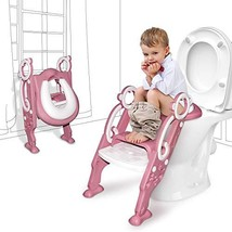 GrowthPic Toddler Toilet Seat with Step Stool Ladder for Boy and Girl Baby Potty