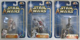 2003 Star Wars Star Tours Collection 3 All 3 Figures R5-D2, SK-Z38, G2-9... - $74.24